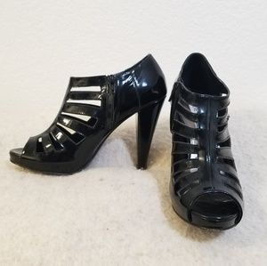 Steve Madden Merriee Patent Leather Booties